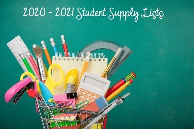 Student Supply Lists