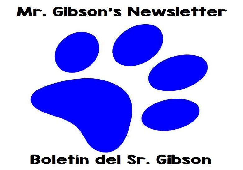 Mr. Gibson's Remote Learning Newsletter