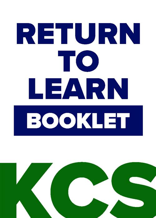 KCS Return to Learn Booklet