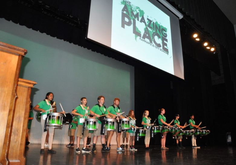 Opening Convocation celebrates KCS as AMAZING PLACE
