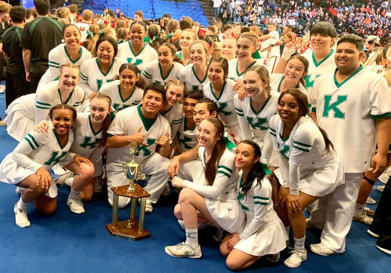 A.L. Brown cheerleaders earn national recognition