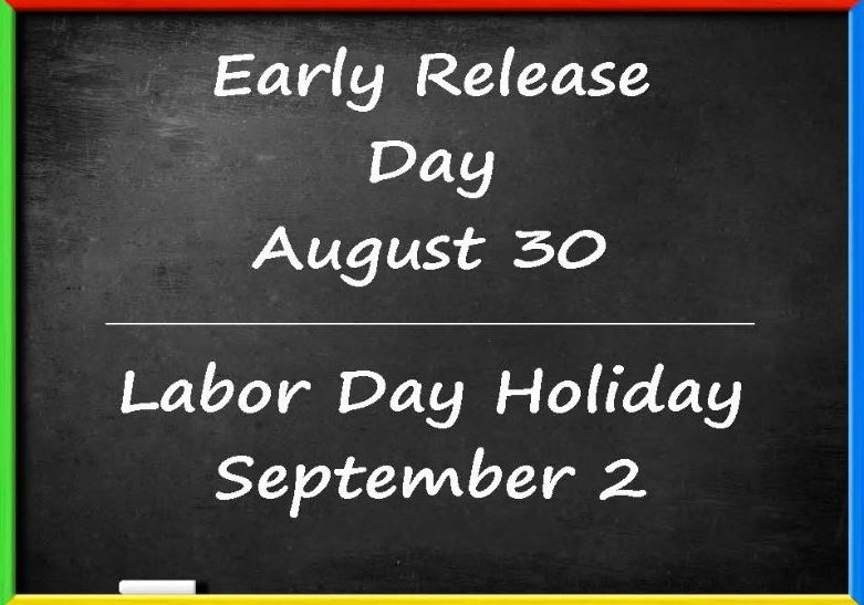 Early Release Day: August 30, 2019