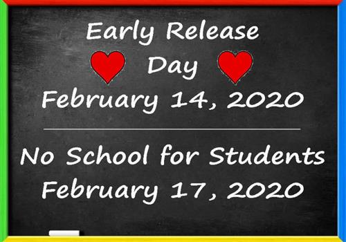 Important Calendar Reminders for Students & Families