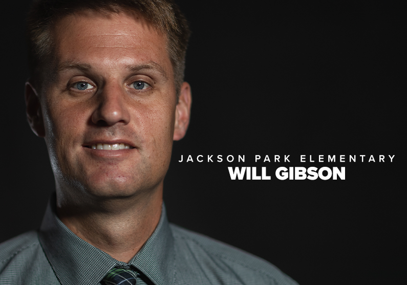 Will Gibson named KCS Principal of the Year