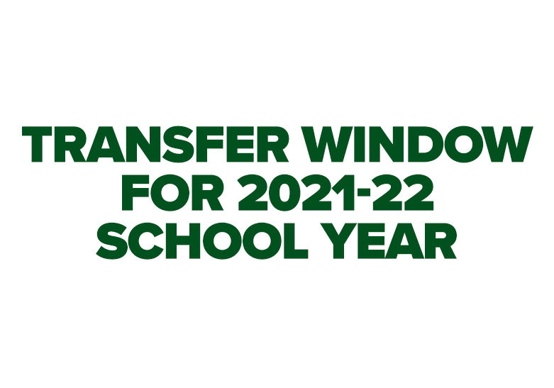 Transfer Window for 2021-22
