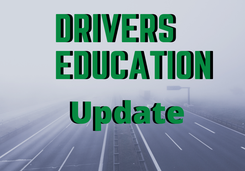 Driver's Education Update