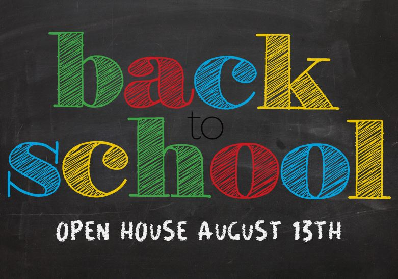 Virtual Open House August 13th