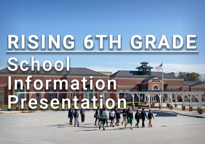 Rising 6th Grade Information